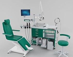 3D model Otolaryngologist Workplace