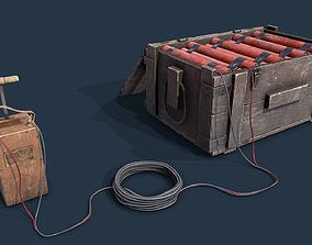3D asset Dynamite Box Blaster