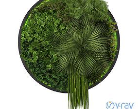 3D model green Vertical Garden