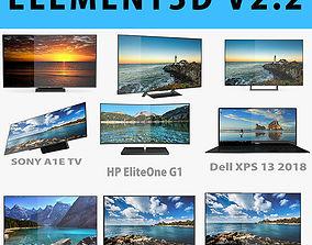 E3D - TOP TV OLED 4K model sony