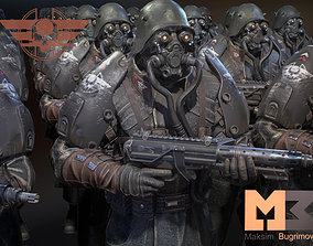 Dystopia Soldier 3D model