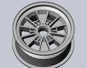 289 FIA Daytona Coupe Model Car Wheels