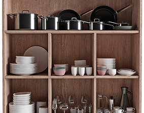 3D Kitchenware and Tableware 04