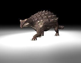 Ankylosaurus Dinosaur Animated animal 3D