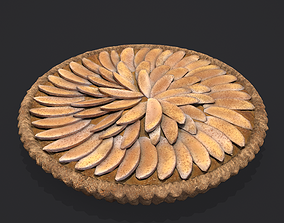 Apple Slice Pie 3D asset