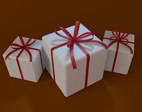 gift 3D Gift Box