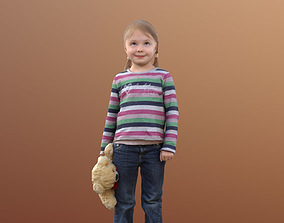 Lilly 10089 - Standing Child with 3D asset