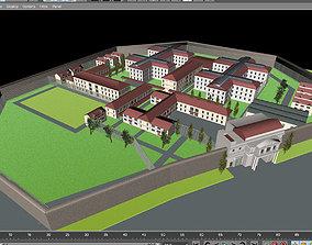3D model Prison layout