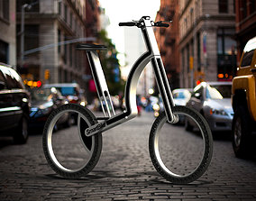 3D model Smart Foldable City Bicycle