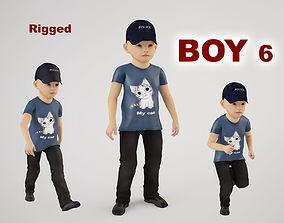 Boy 6 3D model