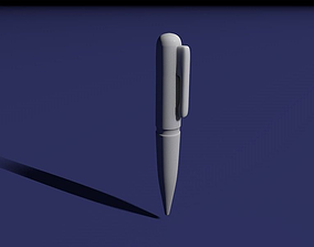 Simple pen 3D printable model
