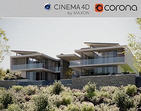 3D model Corona - C4D Scene Files - House Rochter