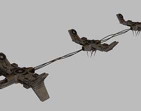 original 3D model Paratka Accelerator