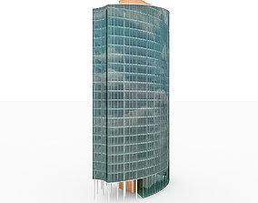 exterior City Office Building 1 3D