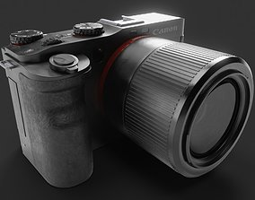 3D asset VR / AR ready Canon Camera