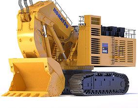 Komatsu PC8000 Shovel mining 3D model