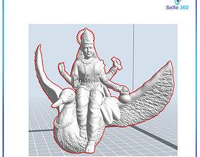 god Laxmi Idol 3D Printable model