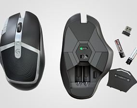 3D asset G602 Computer Mouse