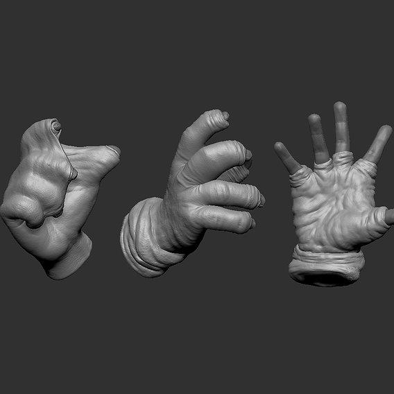 Foreskin Hand glove