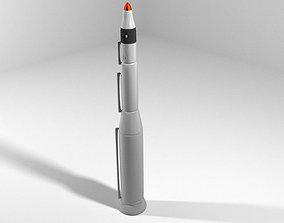 3D Rocket Missile - Minuteman