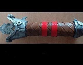 Foldable Hiccup sword 3D print model