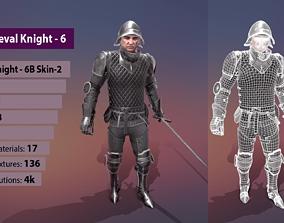 3D asset TAB Medieval Knight - 6B - Skin2