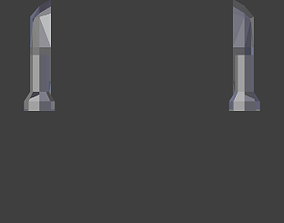 Uintatherium Arms STL 3D print model