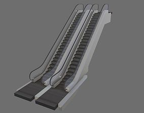 Animated Escalator 3D architectural