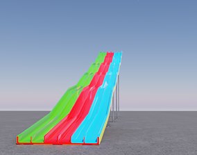 realtime Water Slides 3D