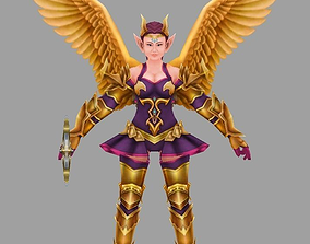 3D asset charater Angel