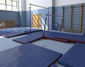 Gymnastics Training Camp 3D model