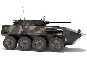 3D model ASLAV-25 Australian Light Armoured Vehicle