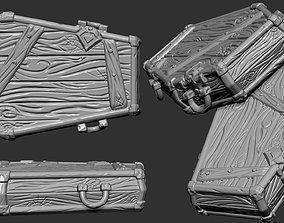 3D Stylized coffin