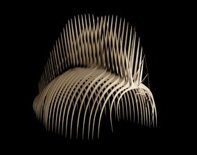 rigged Eren Skeleton Founding Titan 3D Model