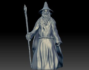 Gandalf the Lord of the Rings 3D print model
