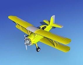 Grumman G-164 AgCat V09 Cropduster 3D model