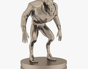 3D printable model cyborg Mutant miniature