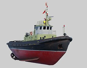 Tugboat project 498 3D model