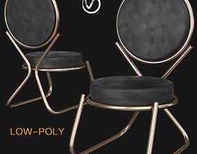 3D asset Chair David Adjaye designs Double Zero