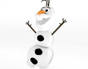 Olaf from Frozen 3D model