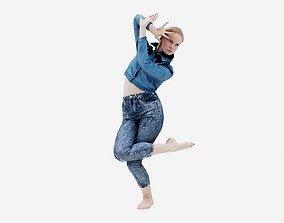 3D asset Jeans Pants 013