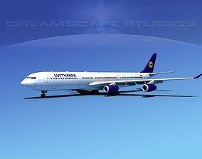 Aibrubs A340-600 Lufthansa 3D model