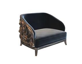 richard II king chair 3D model