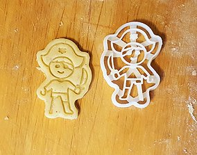 3D printable model Pirate cookie cutter