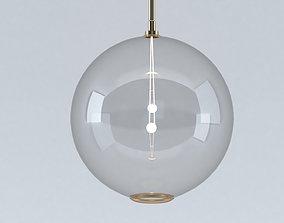 3D model Crystal Chandelier Ceiling