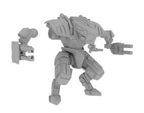 28mm Sci-Fi Sentry Mech 3D printable model
