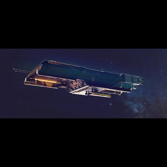 "Cargoship ""MULE"""