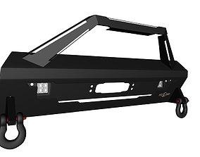 3D Front Bumper Fangs for Toyota 4Runner TRDpro