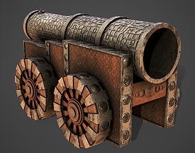 3D model Battle Cannon