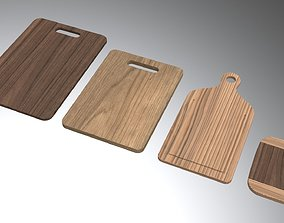 3D model Wooden Cutting Boards